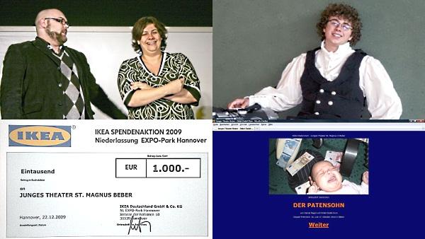 Zwei Jahre Didel-Dadel-Dum-Blog: Collage der vier meistgelesenen Artikel